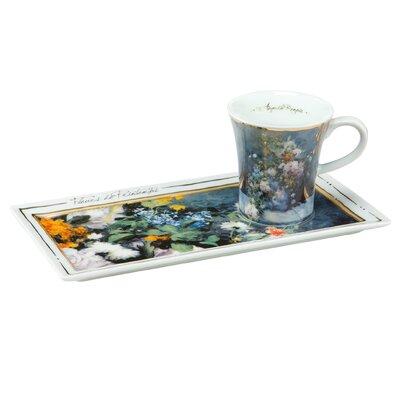 Goebel Espressotassen-Set Frühlingsblumen