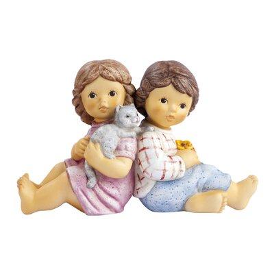 Goebel Figur Nina und Marco-Päuschen zu zweit