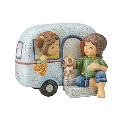 Goebel Figur Ferien im Wohnwagen Meine besten Freunde