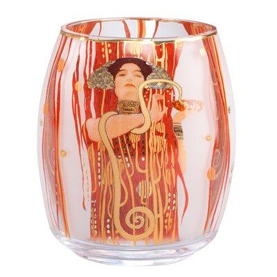 Goebel Teelichthalter Medizin aus Glas