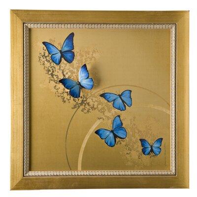 Goebel Wandbild Blue Butterflies Artis Orbis
