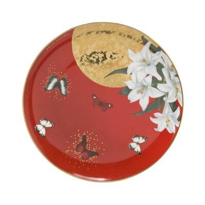 Goebel Frühstücksteller Lilies Red Artis Orbis