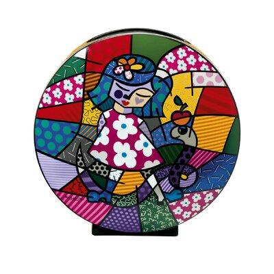 Goebel Vase Girl with Snake Pop Art
