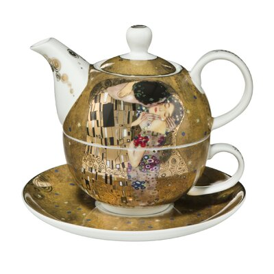 Goebel 3-tlg. Tee-Set Artis Orbis aus Porzellan