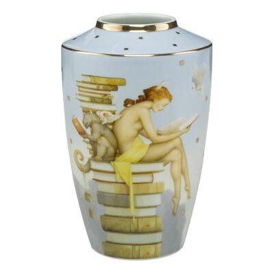 Goebel Vase Ex Libris Artis Orbis