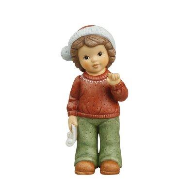 """Goebel 10,5cm Dekorationsfigur """"Kleines Weihnachtsgedicht"""""""