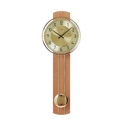 AMS Uhrenfabrik Analoge Wanduhr XXL 60 cm