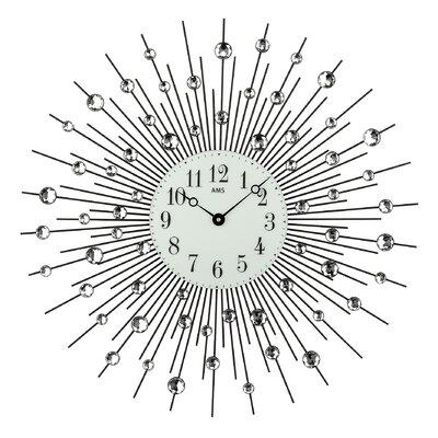 AMS Uhrenfabrik Analoge Wanduhr Night XXL 60 cm