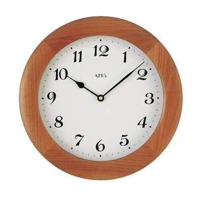 AMS Uhrenfabrik Analoge Wanduhr 28 cm