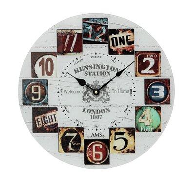 AMS Uhrenfabrik Analoge Wanduhr 40 cm