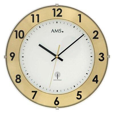 AMS Uhrenfabrik Funkwanduhr 30 cm