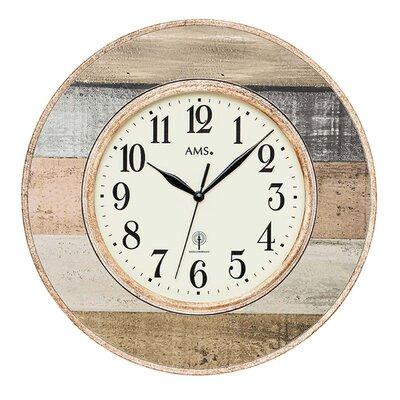 AMS Uhrenfabrik Funkwanduhr 35 cm