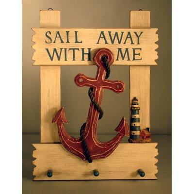 Sail Away Anchor Wall Hook