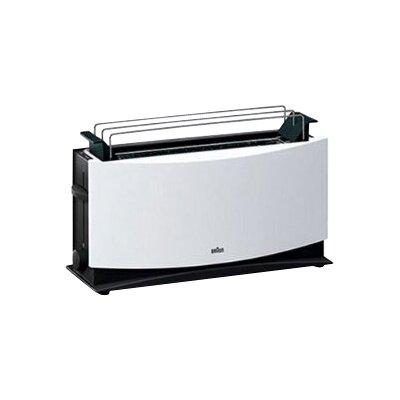 Braun Toaster Multi Toast 2 Scheiben 1000 W mit Brötchenaufsatz