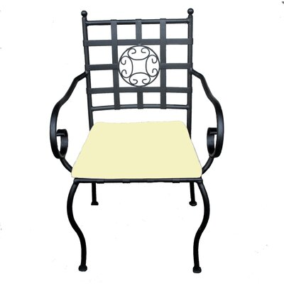 Ascalon Stacking Dining Arm Chair with Cushion