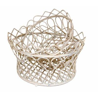 Ascalon Wilton 2 Piece Round Basket Set
