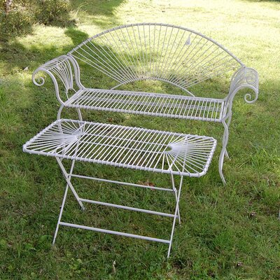 Ascalon Wire 2 Seater Steel Bench
