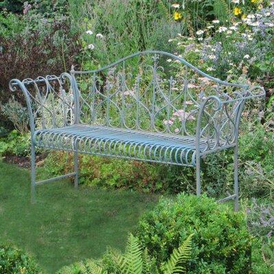 Ascalon Garden 2 Seater Steel Garden Bench