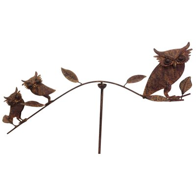 Ascalon Balance 3 Owls Garden Stake