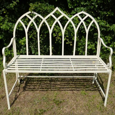 Ascalon Gothic 2 Seater Steel Bench