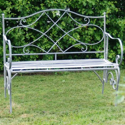 Ascalon Westminster 2 Seater Steel Bench