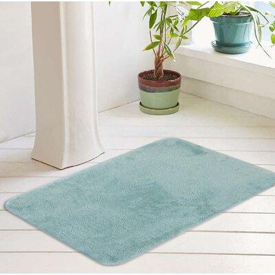 """Bath Rug Color: Ocean Wave, Size: 20"""" W x 32"""" L"""