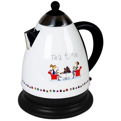 Efbe-Schott 1,7L Wasserkocher High Tea aus Edelstahl