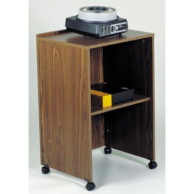 Tabletop Lectern Base Rug Size: ROUND 5'3, Finish: Medium Oak
