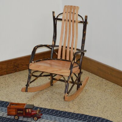 Hickory Child Rocking Chair Frame Color: Natural