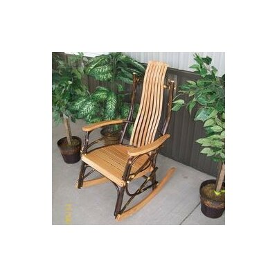 Hickory Rocking Chair Frame Color: Natural