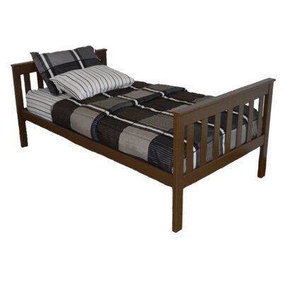 Mission Bed Bed Frame Color: Coffee, Size: Full