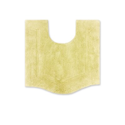 "Shera Bath Rug Size: 20"" W x 20"" L, Color: Yellow"