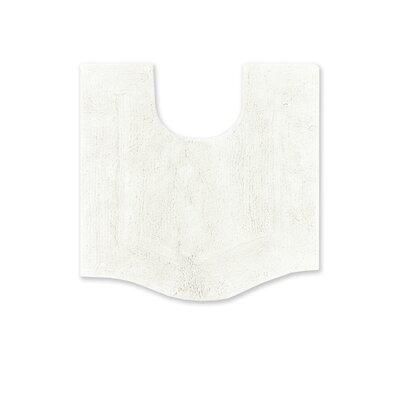 Shera Contour Rug Color: White