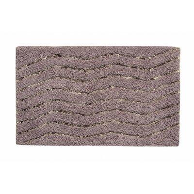 "Artesia Bath Rug Color: Gray, Size: 17"" W x 24"" L"