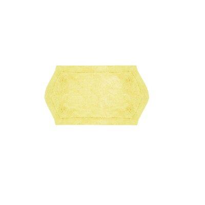 "Shera Bath Rug Size: 21"" W x 34"" L, Color: Linen"