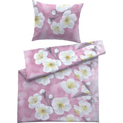 Fussenegger Heimtextilien Bettwäsche Set Flower Nina aus 100 % mercerisierter Satin-Mako-Baumwolle