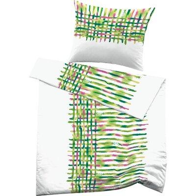 Fussenegger Heimtextilien Bettwäsche Set Flen aus  100 % mercerisierter Satin-Mako-Baumwolle