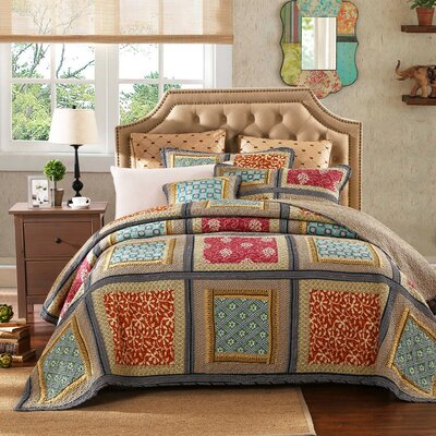 Gallery of Roses 3 Piece Quilt Cover Set