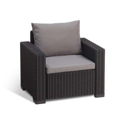 Allibert California Armchair with Cushions (Set of 2)