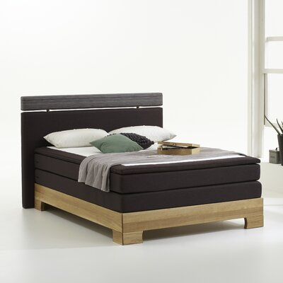 Atlantic Home Collection Boxspringbett Woody mit Topper
