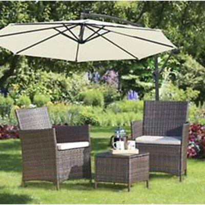 Brundle Gardener 2 Seater Sofa Set with Cushions