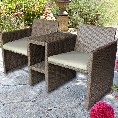 Brundle Gardener 2 Seater Rattan Love Seat