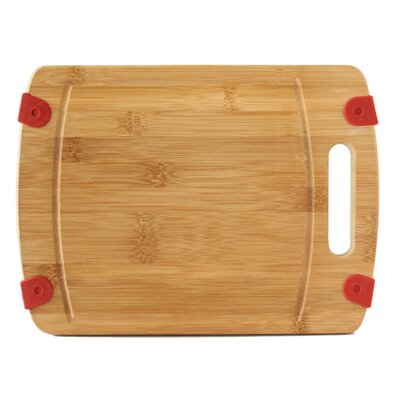 """Heavy Duty Extra Thick Bamboo Cutting Board Size: 12"""" L x 9"""" W"""