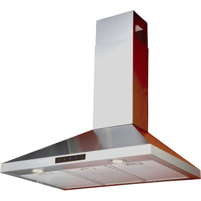 "30"" 412 CFM Convertible Wall Mount Range Hood"
