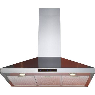 "36"" 412 CFM Convertible Wall Mount Range Hood"