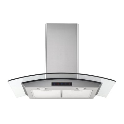 "36"" 412 CFM Ducted Wall Mount Range Hood"