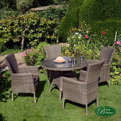 Byron Manor Langton 4 Seater Dining Set with Cushions