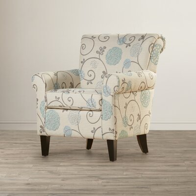 Andover Mills Appleton Flowered Armchair