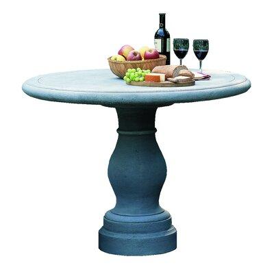 Palladio Cast Stone Bistro Table Finish: Natural