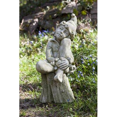 Jenny Statue Color: Travertine